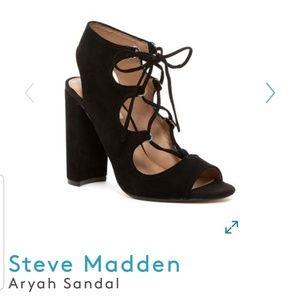 Steven Madden Aryah Sandal - Black